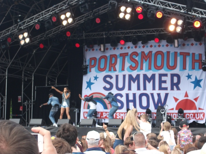 While I felt that there were worse places to be, Alesha Dixon hadn't yet taken to the stage.