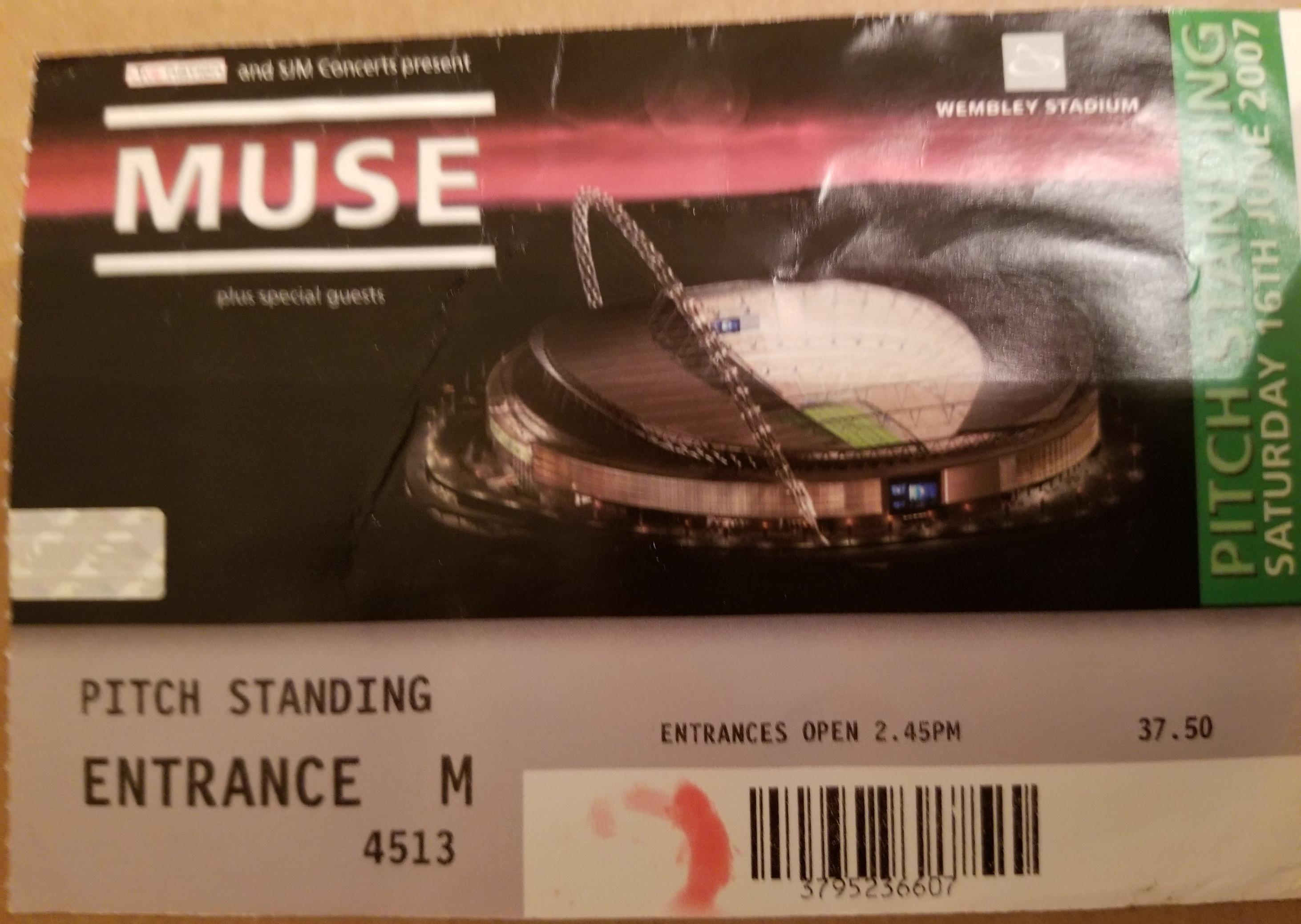 Muse (Wembley Stadium, London, 16/06/07) – NICK POLLARD